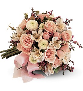 Blushing Blossoms Nosegay in Bend OR, All Occasion Flowers & Gifts