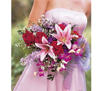 Cradled Beauty Bouquet in Albany NY, Emil J. Nagengast Florist