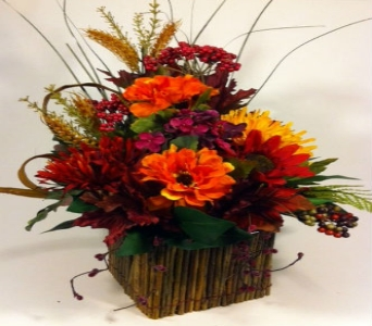 Fall Silk Bouquet in Columbus OH, OSUFLOWERS .COM