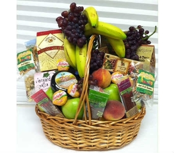 Signature Fruit & Gourmet Basket  in New Haven CT, The Blossom Shop
