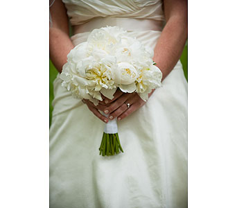 White Bridal Bouquet in Somerset NJ, Flower Station