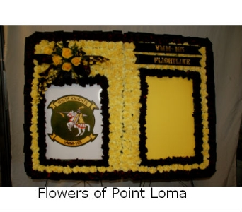 Military symbol in San Diego CA, Flowers Of Point Loma