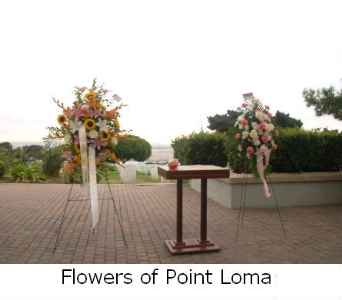 FORT ROSECRANS-- Commuter Shelter in San Diego CA, Flowers Of Point Loma