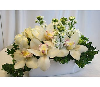 Just White 8 in Victoria BC, Fine Floral Designs