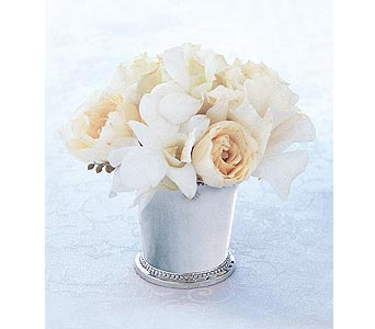 Ivory Julep Cup in Santa Monica CA, Edelweiss Flower Boutique