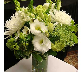 Just White 16 in Victoria BC, Fine Floral Designs