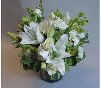 Just White 18 in Victoria BC, Fine Floral Designs