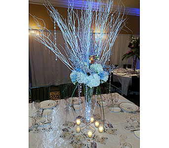 Winter Centerpiece in Staten Island NY, Sam Gregorio's Florist