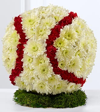 The Baseball Tribute in Guelph ON, Patti's Flower Boutique