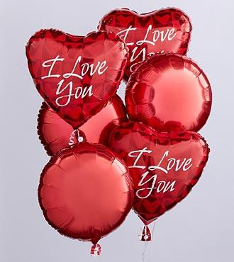 I Love You Baloon Bouquet in Jacksonville FL, Jacksonville Florist Inc
