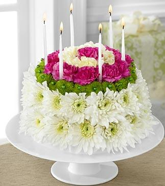 Wonderful Wishes Floral Cake in Jacksonville FL, Jacksonville Florist Inc