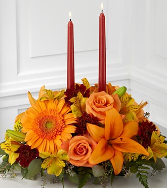Bright Autumn Centerpiece in Palm Coast FL, Garden Of Eden