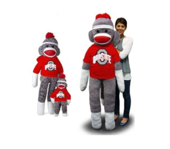OSU Sock Monkeys in Columbus OH, OSUFLOWERS .COM