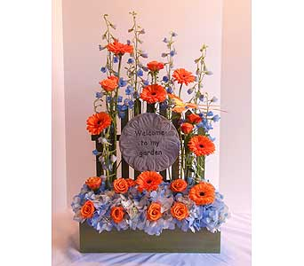 Welcome Stone in Crafton PA, Sisters Floral Designs