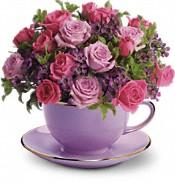 Cup of Roses Bouquet in Jacksonville FL, Jacksonville Florist Inc