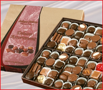 2 lb. Assorted Chocolates in Columbus OH, OSUFLOWERS .COM