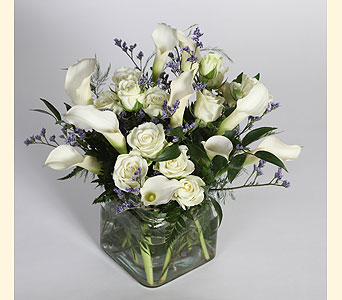 Callas and Spray Roses in Southampton PA, Domenic Graziano Flowers