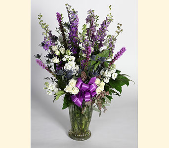 Lavender Vase Arrangement in Southampton PA, Domenic Graziano Flowers
