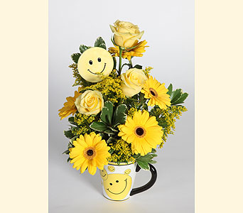 Smile Mug in Southampton PA, Domenic Graziano Flowers