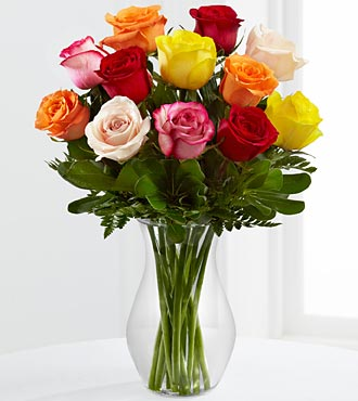 FTD Enchanting Rose Bouquet in Hollister CA, Barone's Westlakes Balloons and Gifts
