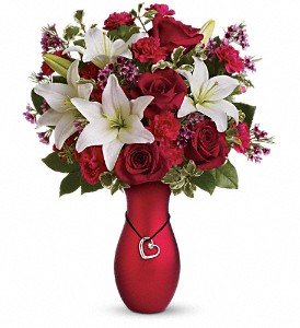 Heartstrings Bouquet by Teleflora in Winchester KY, Haggard's Flower House