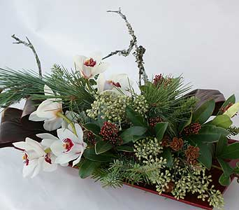Yuletide Beauty in Victoria BC, Fine Floral Designs