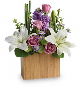 Kissed With Bliss by Teleflora in Dubuque IA, New White Florist