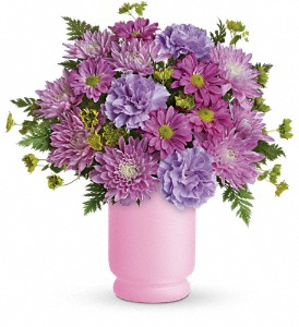 Poetry In Purple Bouquet by Teleflora in Winston Salem NC, Sherwood Flower Shop, Inc.