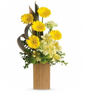 Sunbeams And Smiles by Teleflora in Columbia Falls MT, Glacier Wallflower & Gifts
