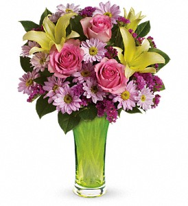 Teleflora's Bring On Spring Bouquet in Oklahoma City OK, Array of Flowers & Gifts