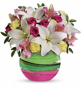 Teleflora's Paint It Pastel Bouquet in Bloomington IN, Judy's Flowers and Gifts