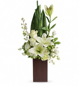 Teleflora's Peace And Harmony Bouquet in Columbia Falls MT, Glacier Wallflower & Gifts
