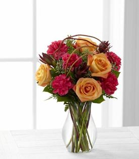 FTD Happiness Bouquet in Hollister CA, Barone's Westlakes Balloons and Gifts