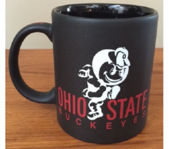 Black OSU Brutus Mug in Columbus OH, OSUFLOWERS .COM