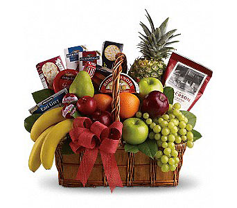 Bon Vivant Gourmet Basket in Detroit and St. Clair Shores MI, Conner Park Florist