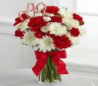 Candid Christmas Holiday Bouquet in Altamonte Springs FL, Altamonte Springs Florist