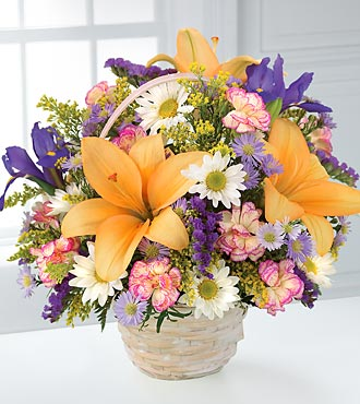 FTD Natural Wonders Bouquet in Hollister CA, Barone's Westlakes Balloons and Gifts