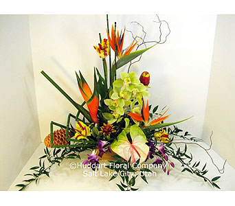 Huddart Amazing Tropical Bouquet in Salt Lake City UT, Huddart Floral