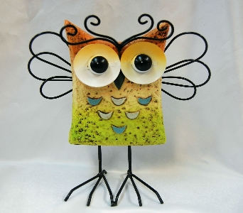Owl Decoration in Henderson NV, A Country Rose Florist, LLC