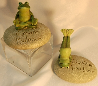 Inspirational Frog in Henderson NV, A Country Rose Florist, LLC