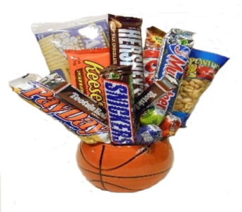 Basketball Candy Bouquet in Columbus OH, OSUFLOWERS .COM