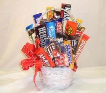 Chocolate Lovers Basket in Tuscaloosa AL, Stephanie's Flowers, Inc.