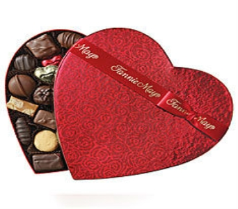 Assorted Chocolate Heart in Washington IN, Myers Flower Shop