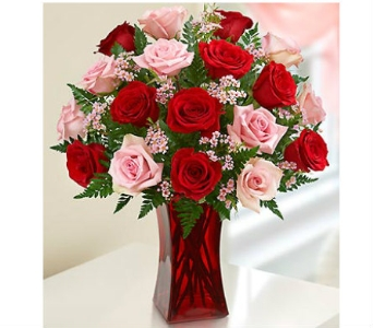 Shades of Pink and Red dans Watertown CT, Agnew Florist