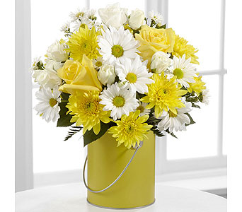 Color Your Day with Sunshine in Washington IN, Myers Flower Shop