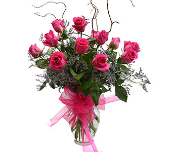 Dozen Roses Arranged in Dearborn Heights MI, English Gardens Florist