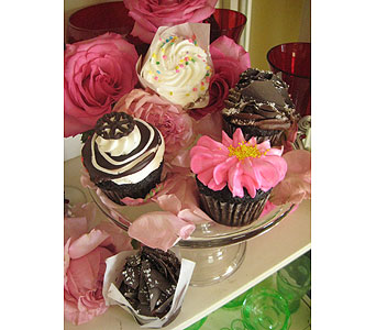 Paper Wrapped Cupcakes in Massapequa Park NY, Bayview Florist & Montage  1-800-800-7304