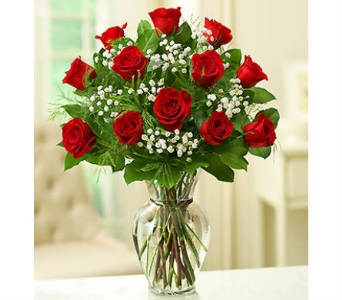 12 Premium Long Stem Red Roses in Palm Desert CA, Milan's Flowers & Gifts