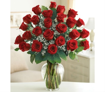 24 Premium Long Stem Red Roses in Palm Desert CA, Milan's Flowers & Gifts