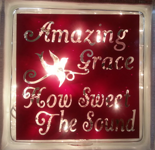 Lighted Cube - Amazing Grace in Madisonville KY, Exotic Florist & Gifts